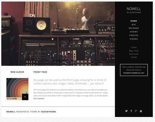 Nowell WordPress Theme