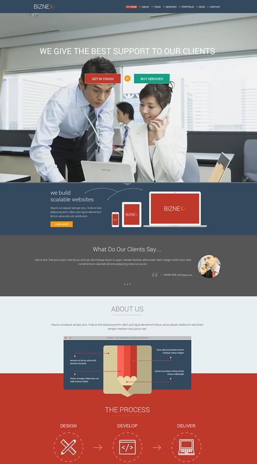 BizNex WordPress Theme