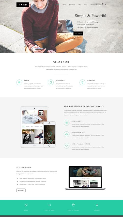 NAMO WordPress Theme