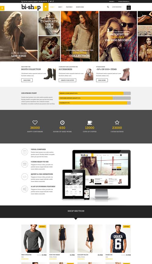 Bishop WordPress Theme
