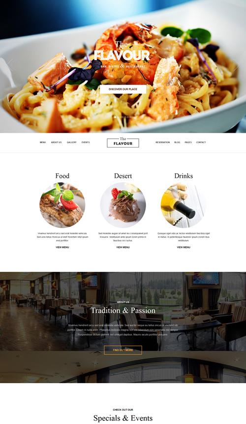 The Flavour WordPress Theme