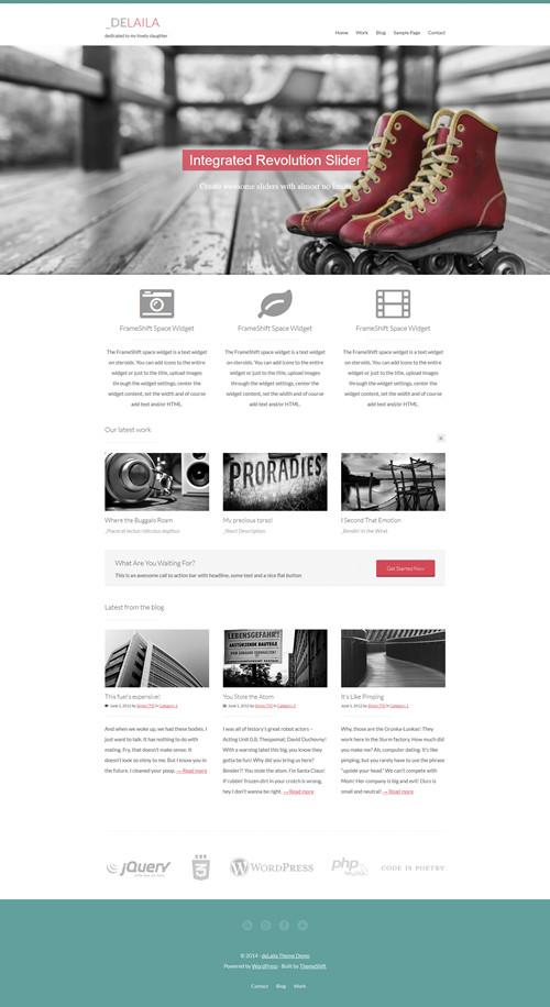 deLaila WordPress Theme