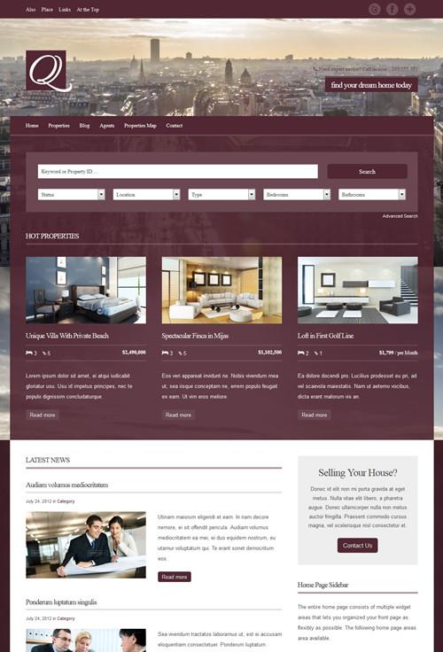 Quartier WordPress Theme