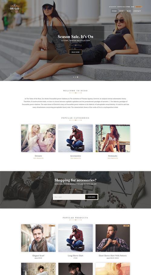 Hugo WordPress Theme
