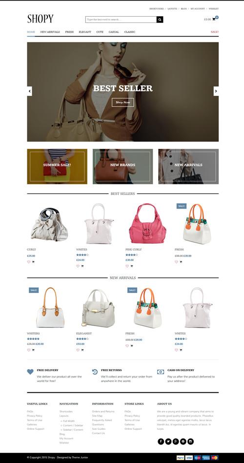 Shopy WordPress Theme