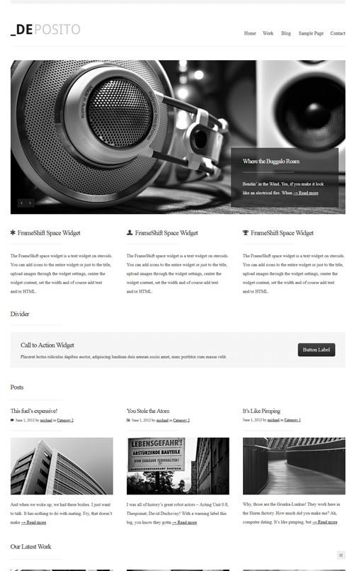 dePosito WordPress Theme