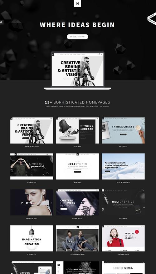 Heli WordPress Theme