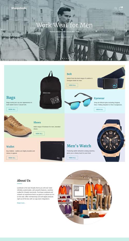 Shopoholic WordPress Theme