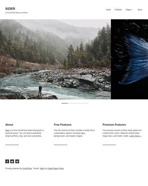 Sider WordPress Theme