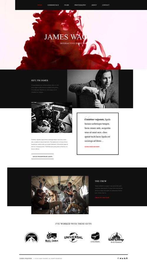 Reel Story WordPress Theme