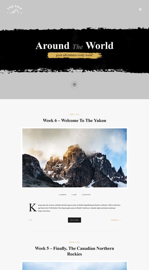 The Trip WordPress Theme