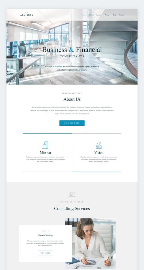 the-advisors-wordpress-theme