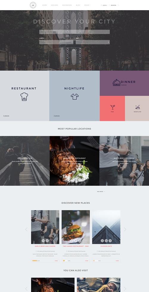 Locales WordPress Theme