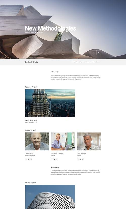 Koehn WordPress Theme