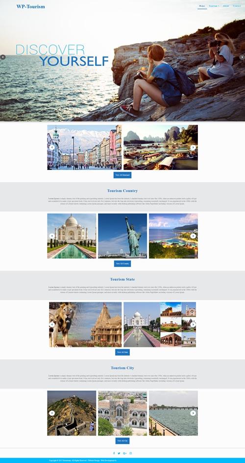 WP-Tourism WordPress Theme