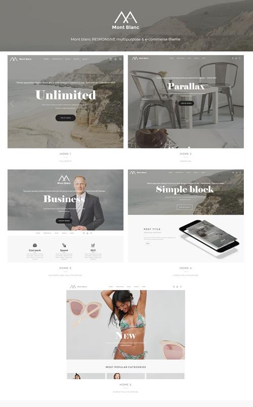 Montblanc WordPress Theme